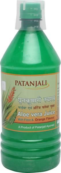 Patanjali Aloe Vera Juice Fiber (1LTR)