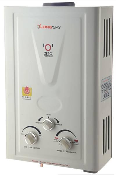 Longway 7L Gas Water Geyser (Xolo DLX, White)