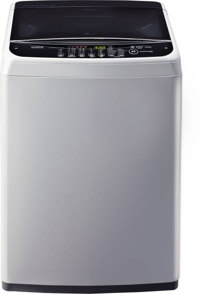 LG 6.2 kg Fully Automatic Top Load Washing Machine (T7281NDDLG, Silver)