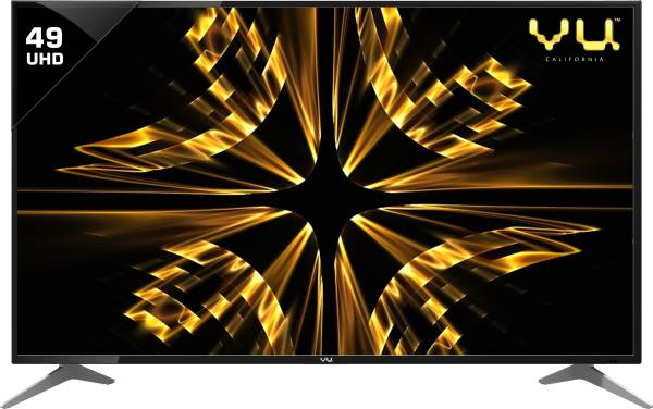 Vu 49 Inches Ultra HD (4K) LED Smart TV (50BU116, Black)