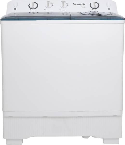 Panasonic 14 kg Semi Automatic Top Load Washing Machine (NA-W140B1 ARB, White)