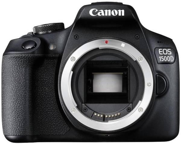 Canon EOS 1500D DSLR Camera (24.1MP, Black)