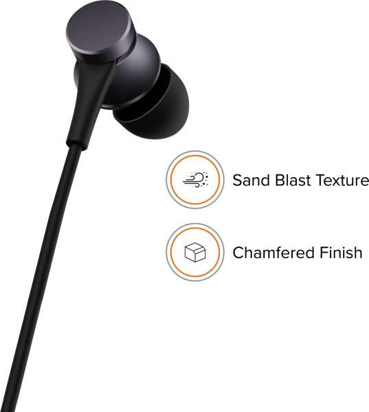 Mi Basic YDJS01JY Wired Earphone (Black)
