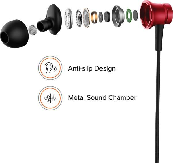 Mi Basic YDJS01JY Wired Earphone (Red)