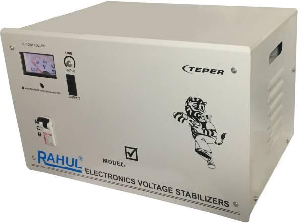 Rahul Base-6 C6 Automatic Voltage Stabilizer (Grey)
