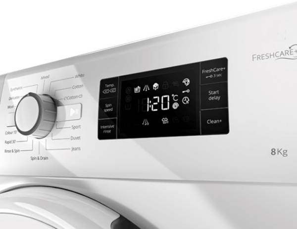 c6fee8cc49ad3 Whirlpool 8 kg Fully Automatic Front Load Washing Machine (FRESH CARE 8212