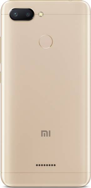 Xiaomi Redmi 6 (Gold, 3GB RAM, 32GB)