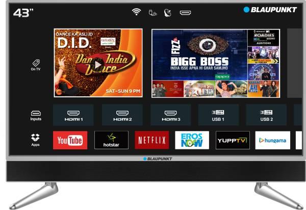 Blaupunkt 43 Inches Ultra HD LED Smart TV (BLA43AU680)