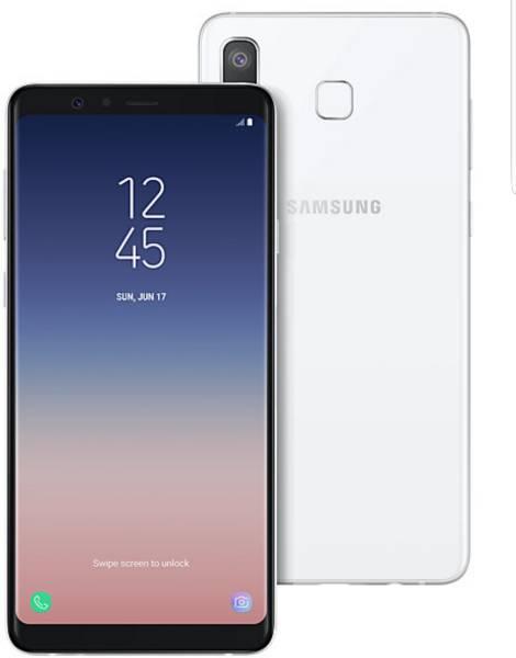 Samsung Galaxy A8 Star (White, 6GB RAM, 64GB)