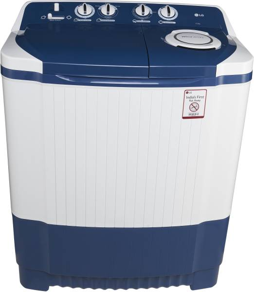 LG 7 kg Semi Automatic Top Load Washing Machine (P8071N3FA, Blue & White)