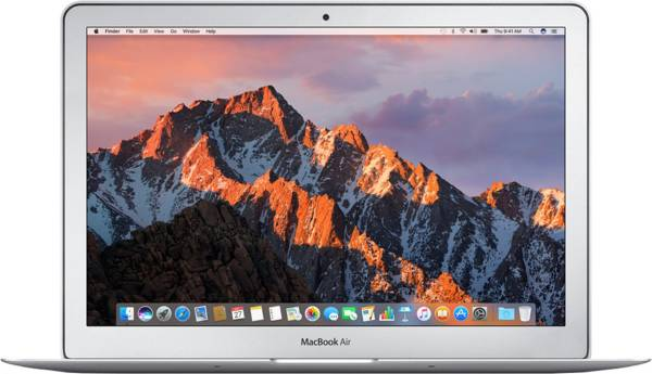 Apple Macbook Air MQD32HN/A Laptop (Mac, 8GB RAM, 128GB HDD, Intel Core i5, Silver, 13.3 inch)