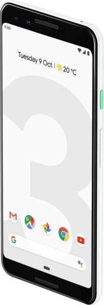 Google Pixel 3 (Clearly White, 4GB RAM, 64GB)