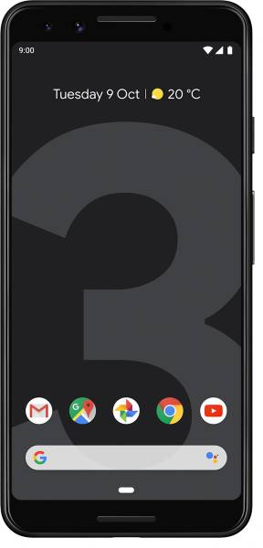 Google Pixel 3 (Just Black, 4GB RAM, 64GB)