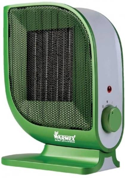 Warmex PTC 09 Leaf Fan Room Heater (Green)