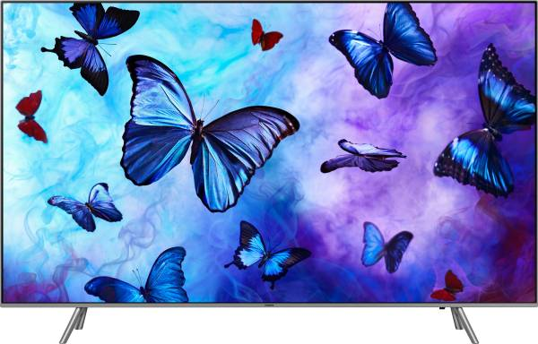 Samsung 65 Inches Ultra HD (4K) QLED Smart TV (65Q6FN, Silver)