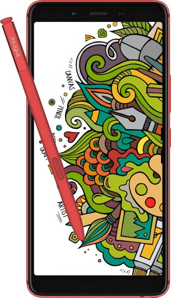 Infinix Note 5 Stylus (Bordeaux Red, 4GB RAM, 64GB)