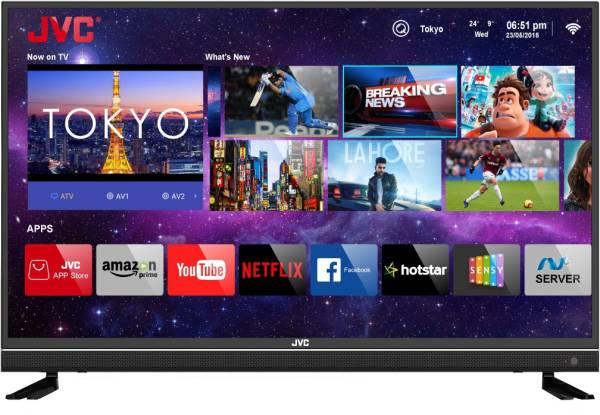 JVC 43 Inches Ultra HD (4K) LED Smart TV (43N7105C, Black)
