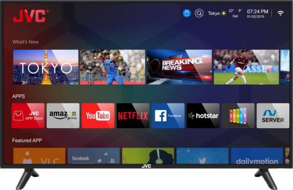 JVC 43 Inches Full HD LED Smart TV (LT-43N5105C, Black)
