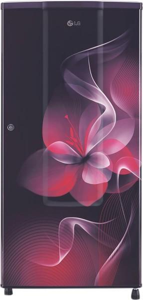 LG 185 L Direct Cool Single Door 2 Star Refrigerator (GL B181RPDC, Purple Dazzle)