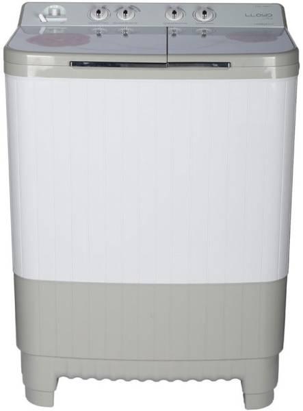 Lloyd 9 kg Semi Automatic Top Load Washing Machine (LWMS90HT1, White & Grey)