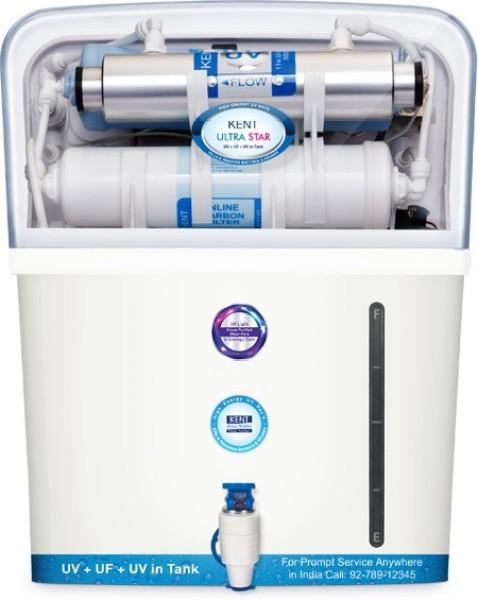 Kent Ultra Star 7L UV+UF Water Purifier (White)