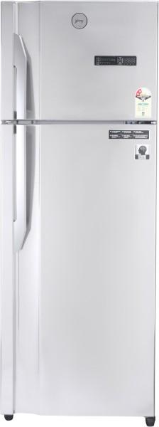 Godrej 350 L Frost Free Double Door Top Mount 2 Star Refrigerator (RT EONVIBE 366B 25 HCIT ST RH, Steel Rush)