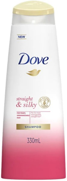 Dove Straight & Silky Shampoo (330ML)