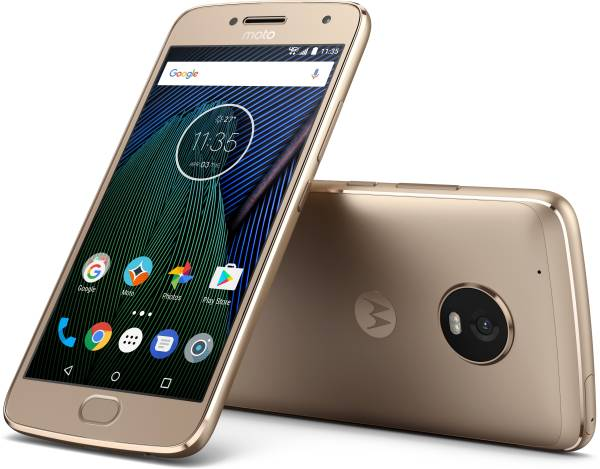 Motorola Moto G5 Plus (Fine Gold, 4GB RAM, 32GB)