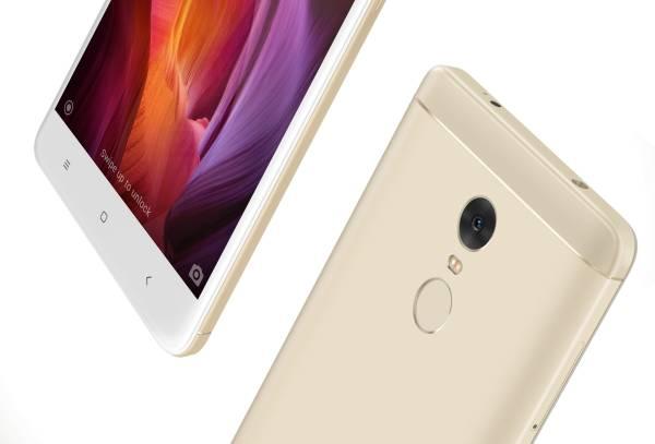 Xiaomi Redmi Note 4 (Gold, 4GB RAM, 64GB)