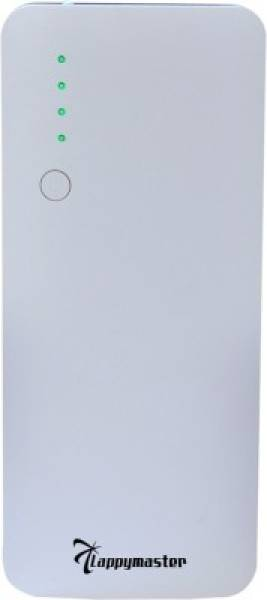 Lappymaster 11000 MAh Power Bank (White, PB-062GY)
