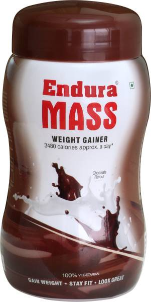 Endura Mass Weight Gainer (Chocolate, 500GM)