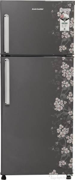Kelvinator 190 L Frost Free Double Door 2 Star Refrigerator (KPP202HGFFA, Grey Gulmohar)
