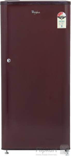 Whirlpool 190 L Direct Cool Single Door 3 Star Refrigerator (WDE 205 CLS, Solid Wine)