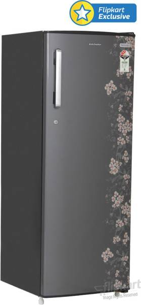 Kelvinator 307 L Direct Cool Single Door 3 Star Refrigerator (KC323PTHG, Grey Gulmohar)