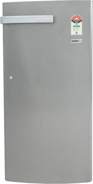 Electrolux 190 L Direct Cool Single Door 3 Star Refrigerator (EN205PTSV, Silver)