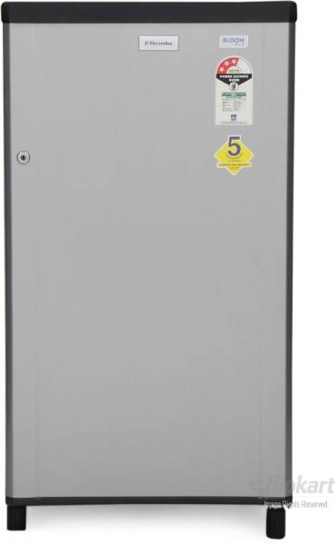 Electrolux 150 L Direct Cool Single Door 1 Star Refrigerator (EB163P, Silver Hairline)