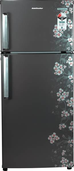Kelvinator 190 L Frost Free Double Door 2 Star Refrigerator (KP202PHG, Gulmohar Grey)