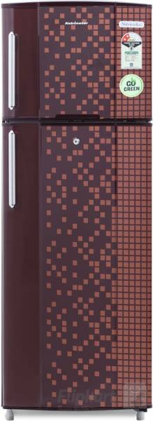 Kelvinator 235 L Frost Free Double Door 2 Star Refrigerator (KA22PMX, Maroon Pixel)