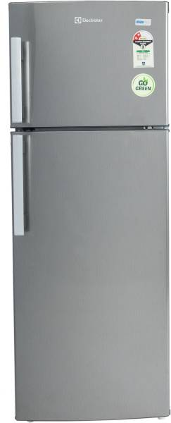 Electrolux 190 L Frost Free Double Door 2 Star Refrigerator (REF EP202LSVHFB, Brushed Hairline)