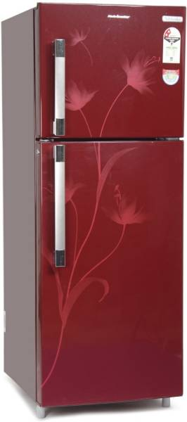 Kelvinator 245 L Frost Free Double Door 2 Star Refrigerator (KSP252FRC, Red Creeper)