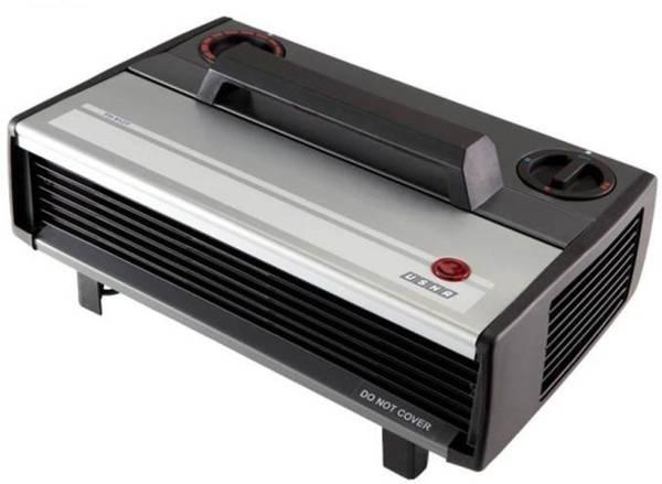 Usha FH 812 Fan Room Heater (Black)