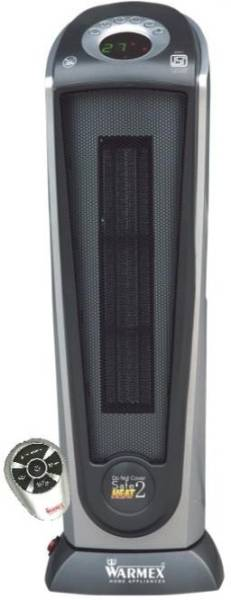 Warmex PTC 99 L Fan Room Heater (Black)