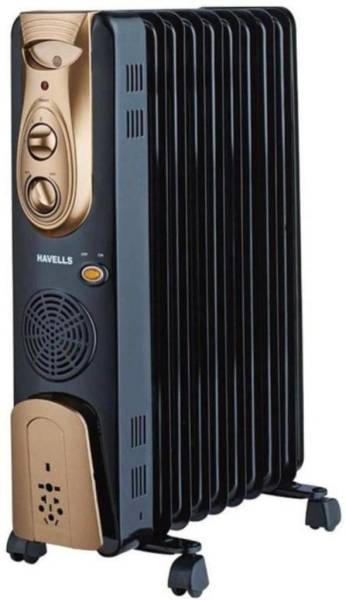 Havells OFR 11 Oil Filled Room Heater (Black)