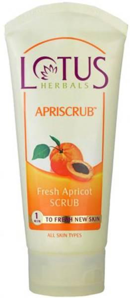 Lotus Herbals Fresh Apricot Scrub (180GM)
