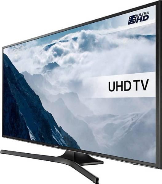 Samsung 50 Inches Ultra HD (4K) LED Smart TV (50KU6000, Black)