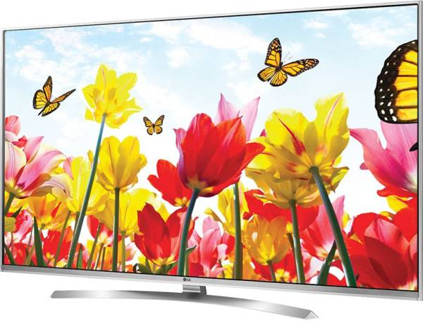 LG 55 Inches Ultra HD (4K) LED Smart TV (55UH850T, Silver)