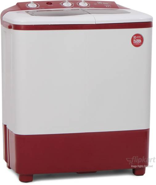 Electrolux 6.2 kg Semi Automatic Top Load Washing Machine (ES62LUMR, Maroon & white)