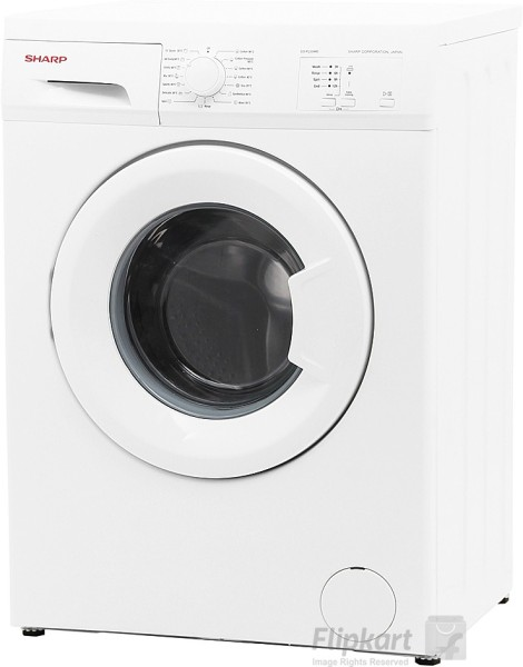Buy Sharp 5 5 Kg Fully Automatic Front Load Washing Machine Es