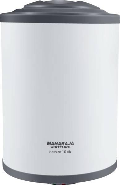 maharaja whiteline 10L Storage Water Geyser (Classico DLX, Blue & White)