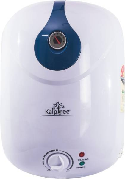 Kalptree 15L Storage Water Geyser (Onyx, Blue & White)